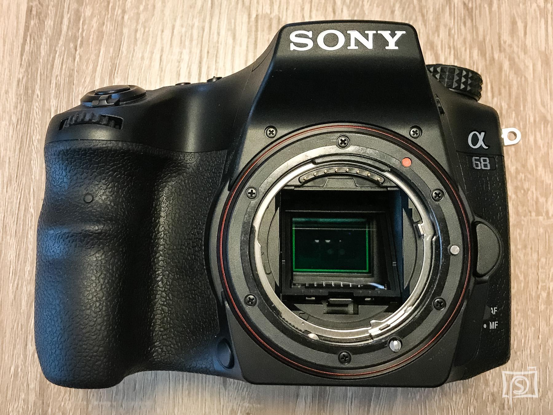 Sony a68 - Elekt. 1. Verschl. vorh.