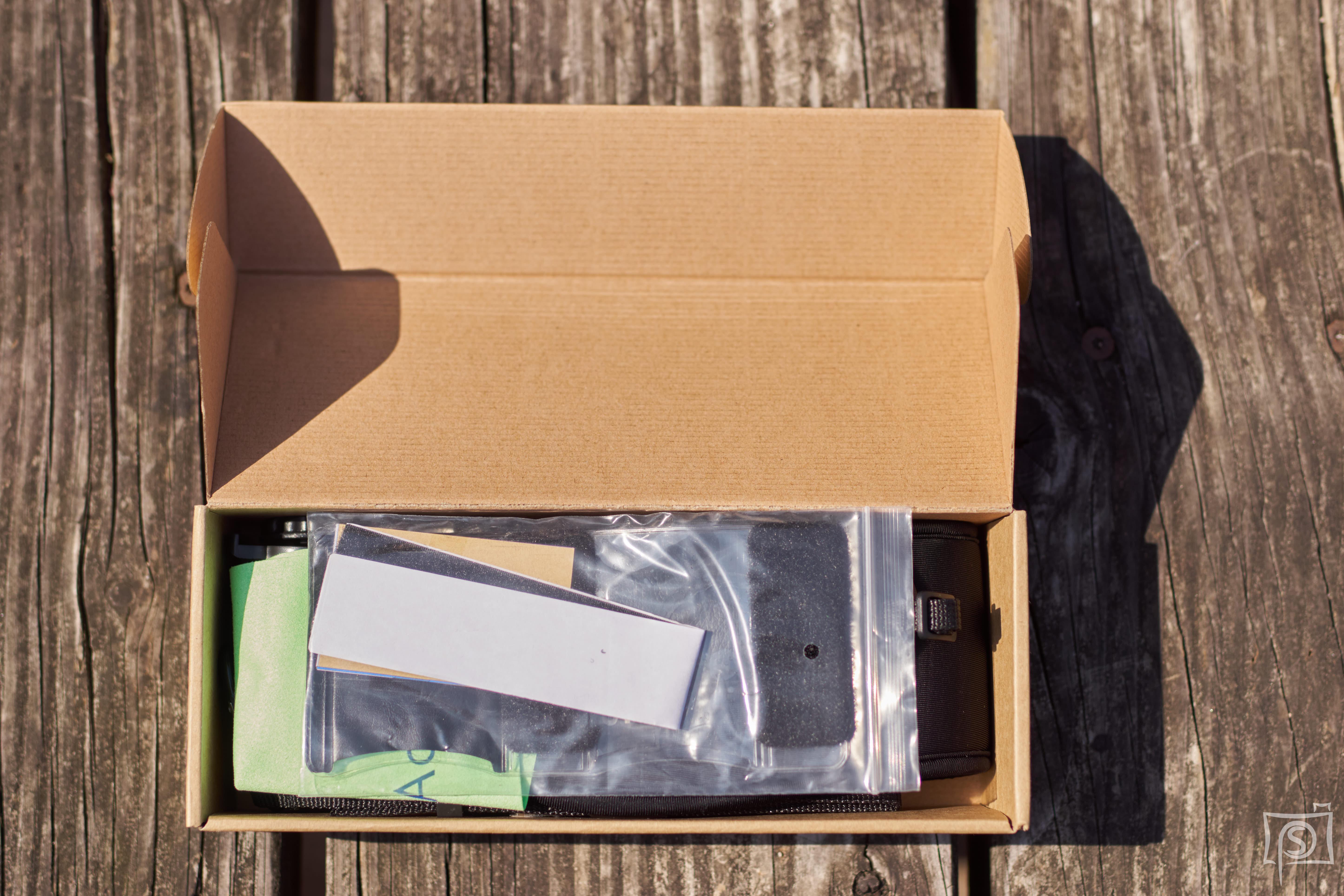 Focus-F2 Pro Verpackung geöffnet