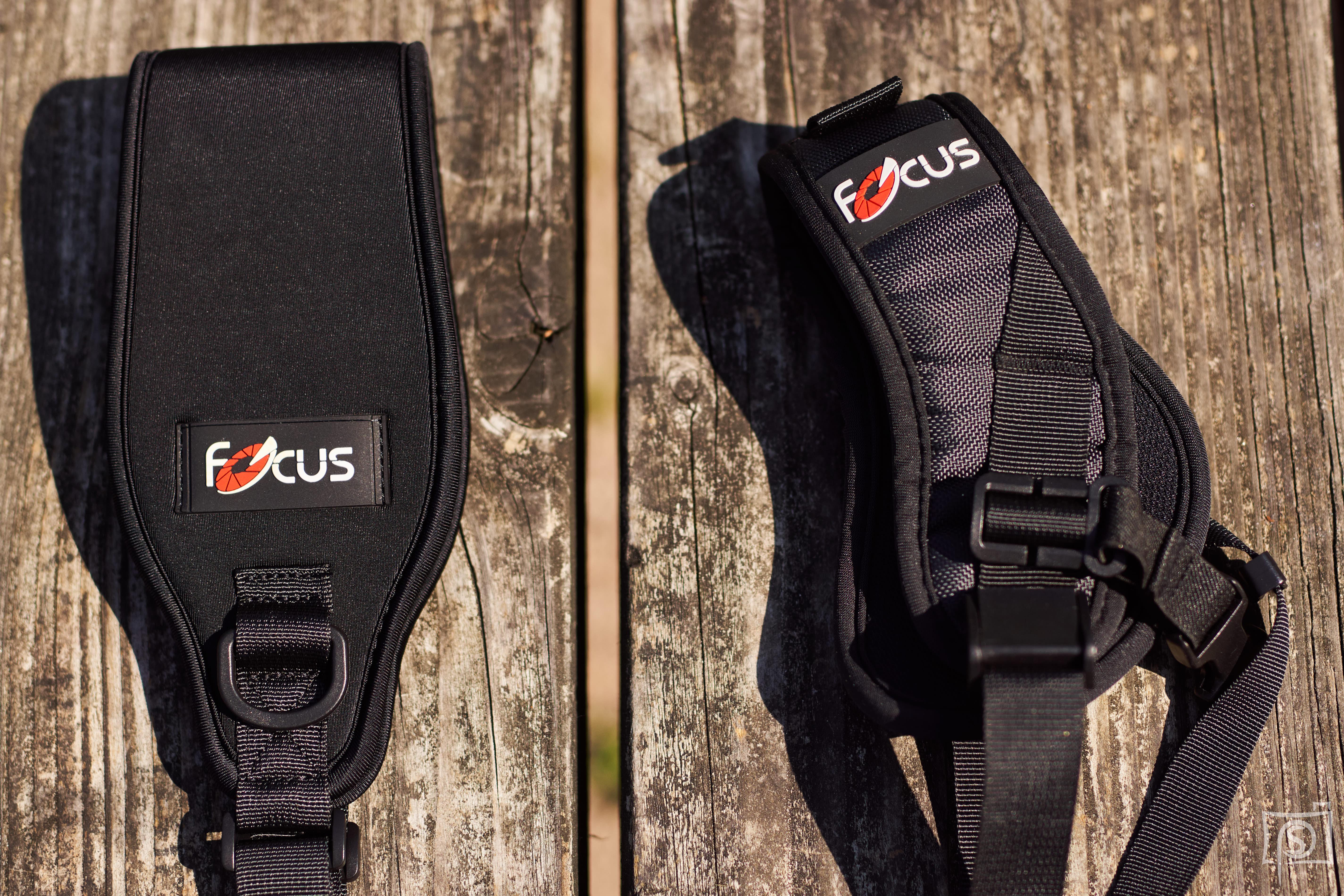 Focus-F2 und Focus-F1 Schulterploster - Vergleich