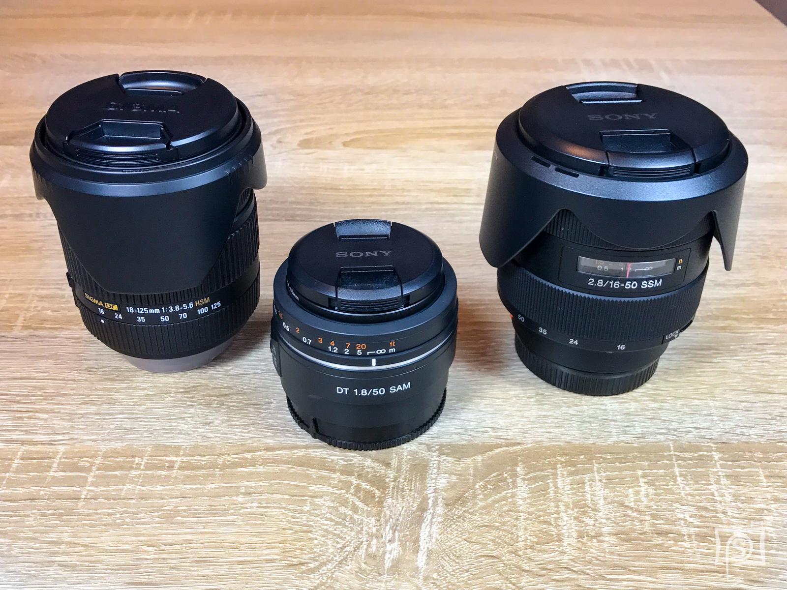 Sigma 18-125 mm vs. Sony SAL50 und SAL1650